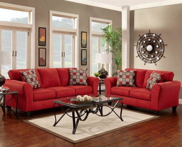 red sofas how to decorate with a red couch - google search PXUANJH