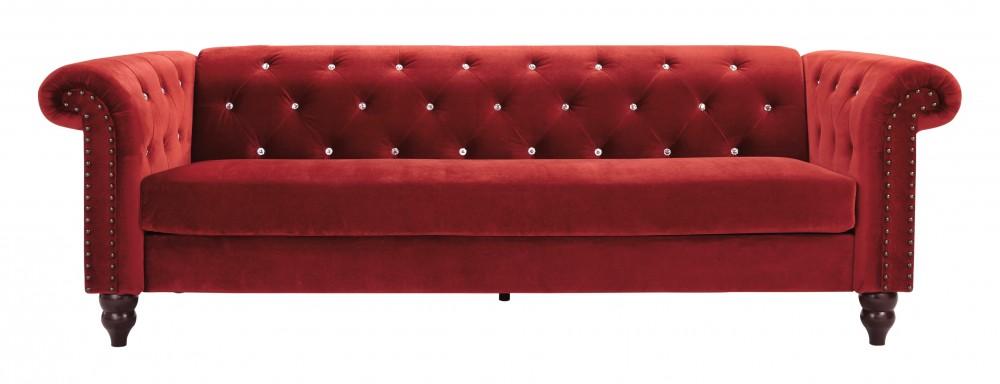 red sofas malchin - red - sofa PMGWNMQ