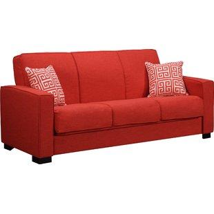 red sofas swiger convertible sleeper sofa KZBXHWL