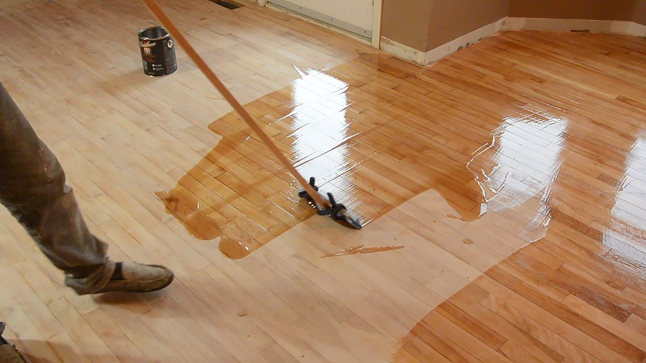 How can you refinish hardwood floors?
