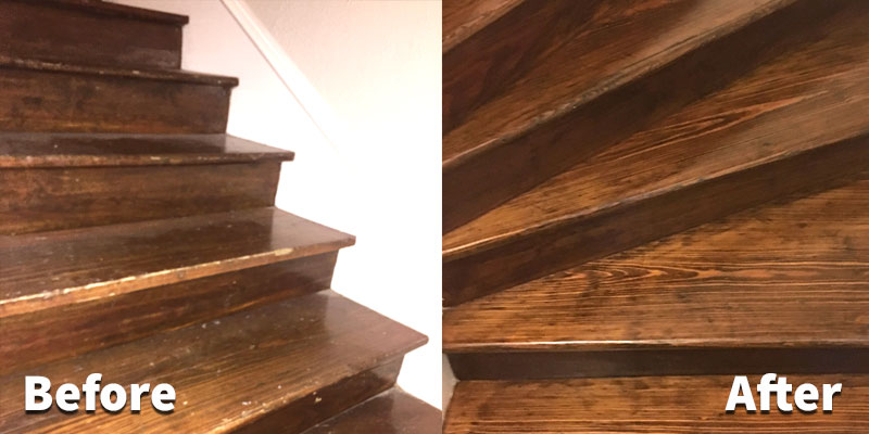 refinish hardwood floors refinish-hardwood-stairs ZRFSZXW