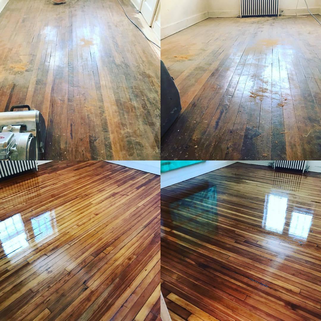 refinishing hardwood floors before u0026 after pine floor refinish by atlas wood floors inc IOAFSYX