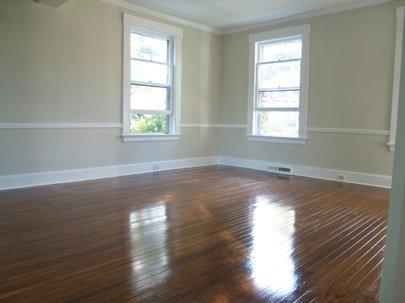 refinishing hardwood floors how to refinish hardwood floors - after MBPOHJC