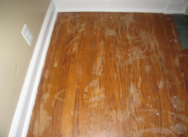 refinishing hardwood floors ... she shared with us a wealth of knowledge, including tips, her regrets FIUHMBQ