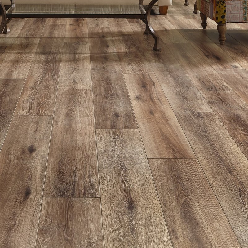 restoration wide plank 8u0027u0027 x 51u0027u0027 x 12mm laminate flooring in brushed OXXIGYK