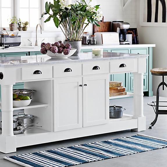 riviera stripe kitchen rug OZESAJJ