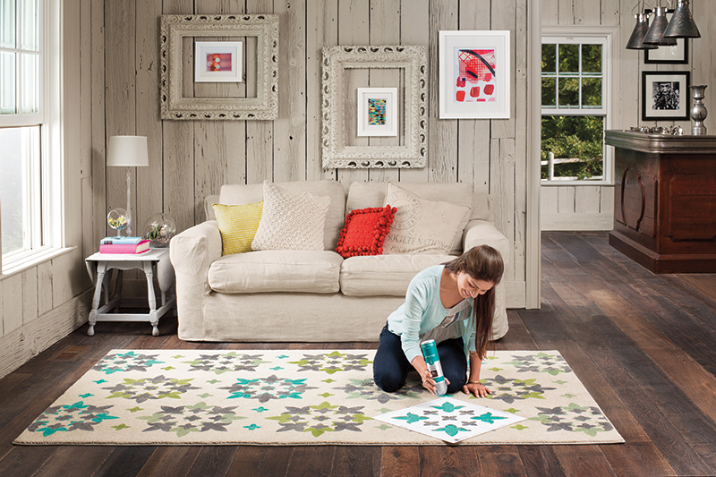What creating the perfect rug décor is all about