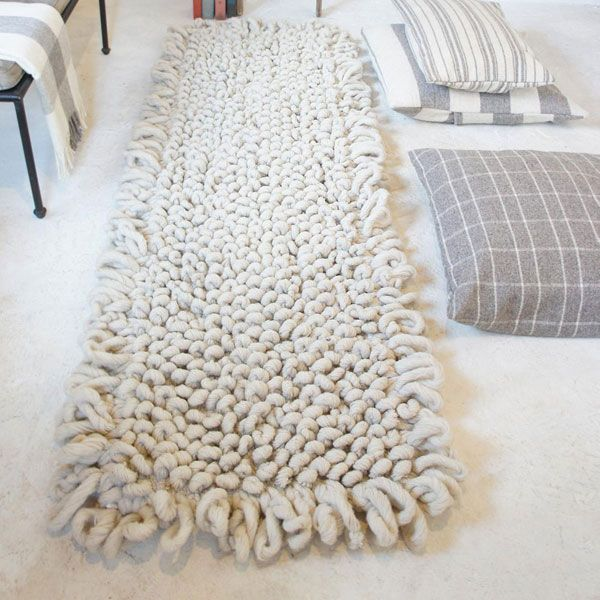 rug wool eco-friendly wool rug - our hand-loomed bouclé pile rugs, are hand-woven in HVNKKLG