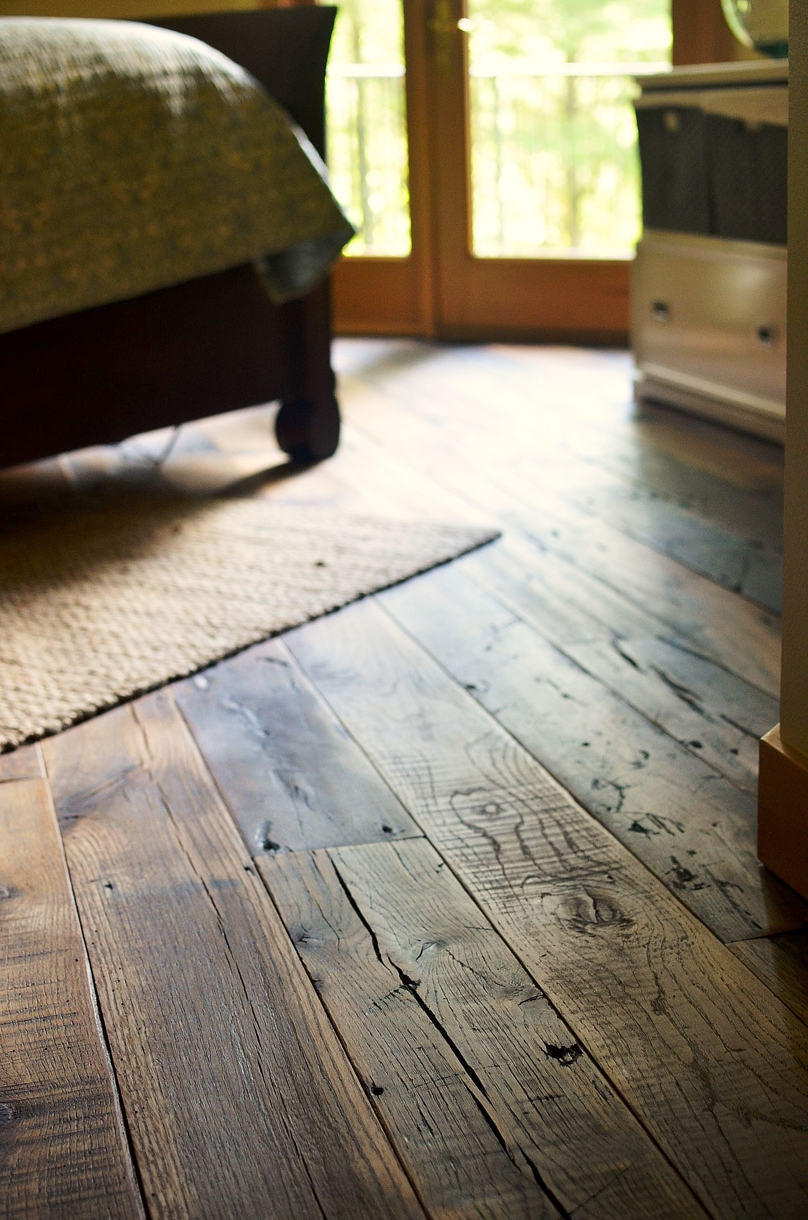 rustic hardwood flooring love this for the house! windows go in next week, finally able to AZHWUTD