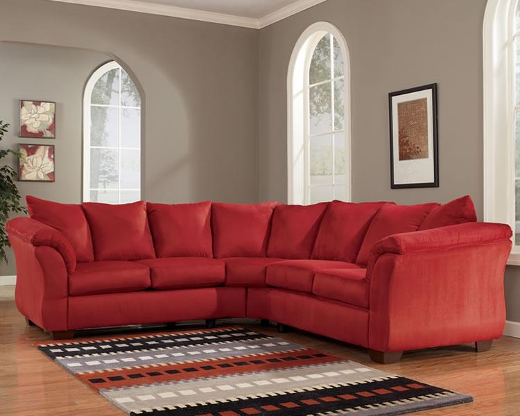 salsa microfiber sectional sofa KBOHFFQ