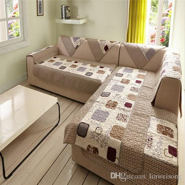 sectional couch covers durable polyester l shaped sofa covers printed sofa cover set couch cover BSBVSDB