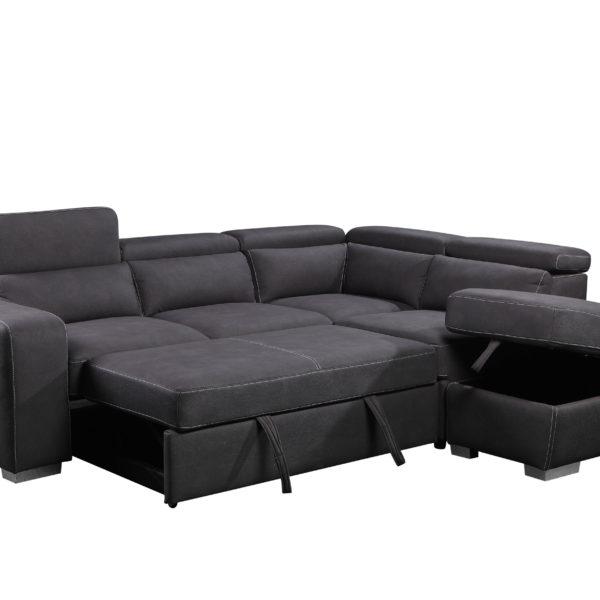 sectional sofa bed barresi sectional - sofa bed IEPXHUZ