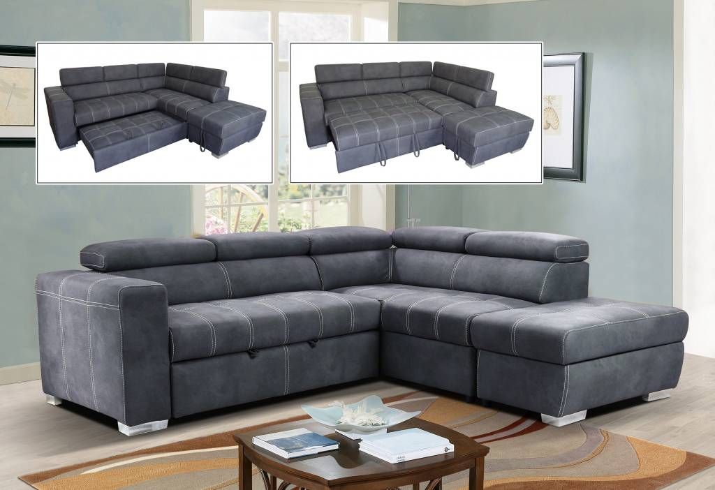 sectional sofa bed primo abby sectional sofa-bed - m2go BWYLRJR