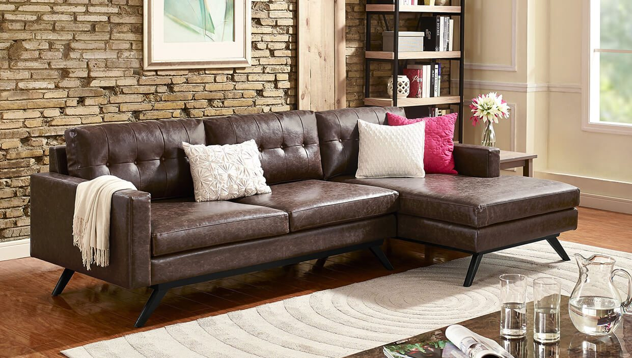 Seating furniture – sectional sofa for small spaces