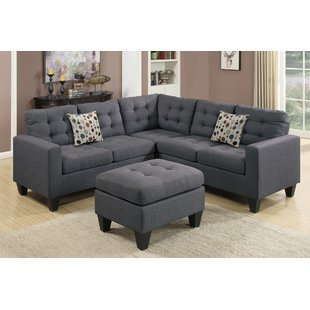 sectional sofa for small spaces pawnee sectional with ottoman IQSWWGV