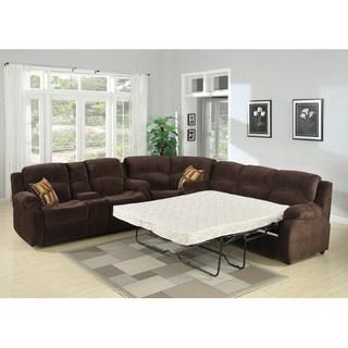 sectional sofa sleeper tracey chocolate sleeper sectional AGVNXHK
