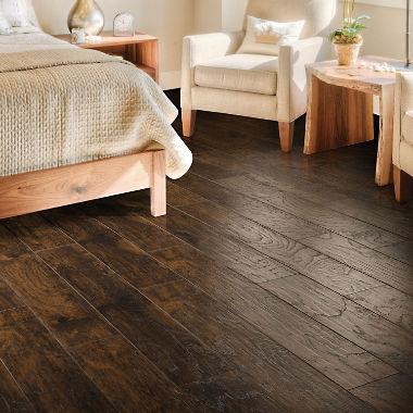 select surfaces woodland hickory laminate flooring ZVOJRWX