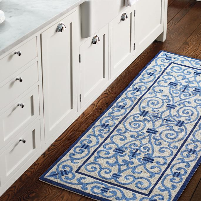 Factors to consider when you display your kitchen rug