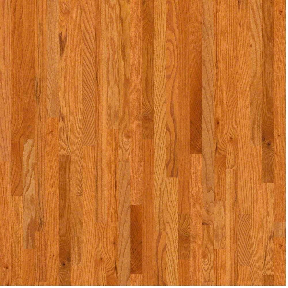 shaw take home sample - woodale caramel oak solid hardwood flooring - 3-1/ BOHDLOT