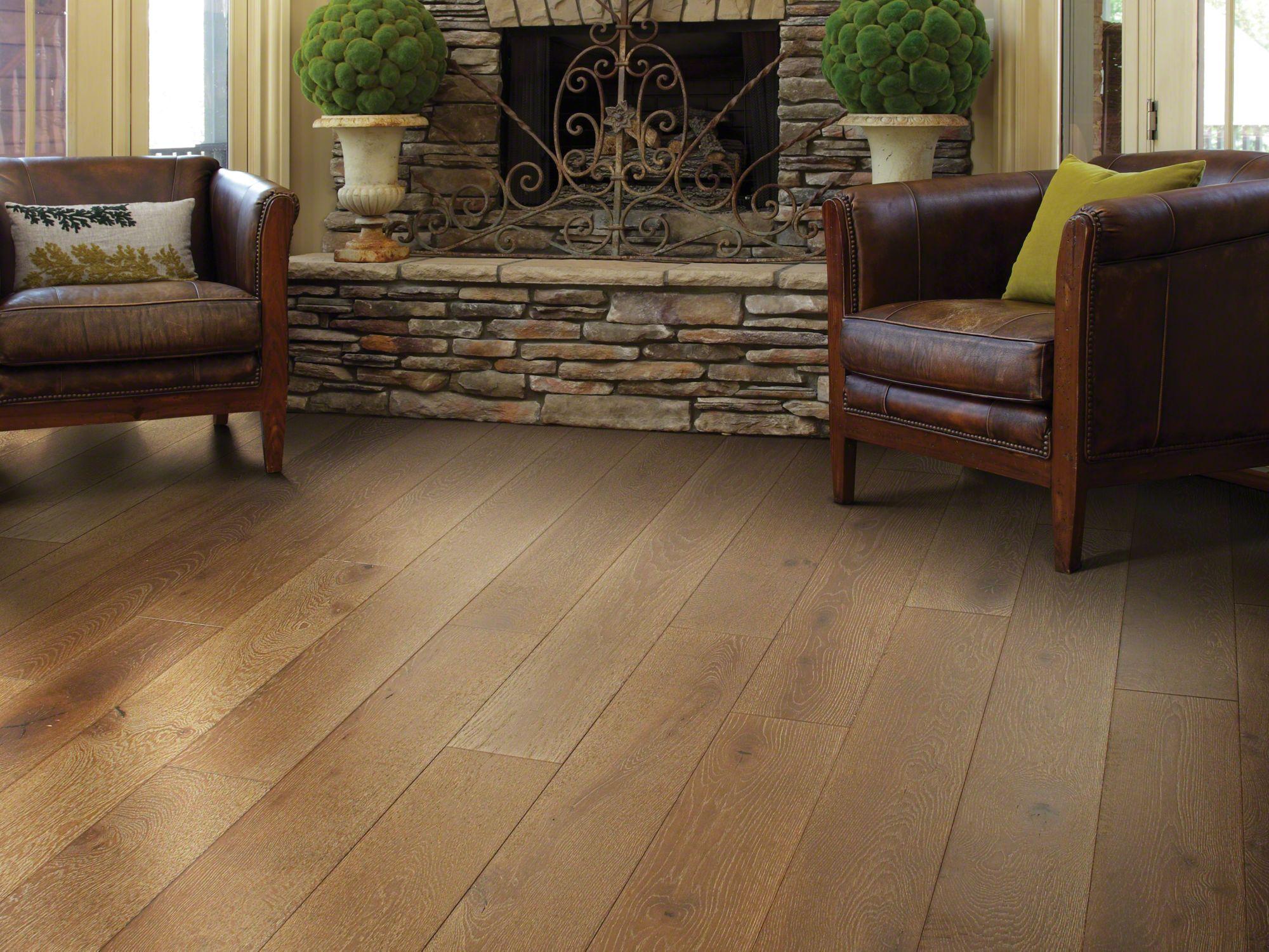 shaw wood flooring castlewood oak - room REAMQQJ