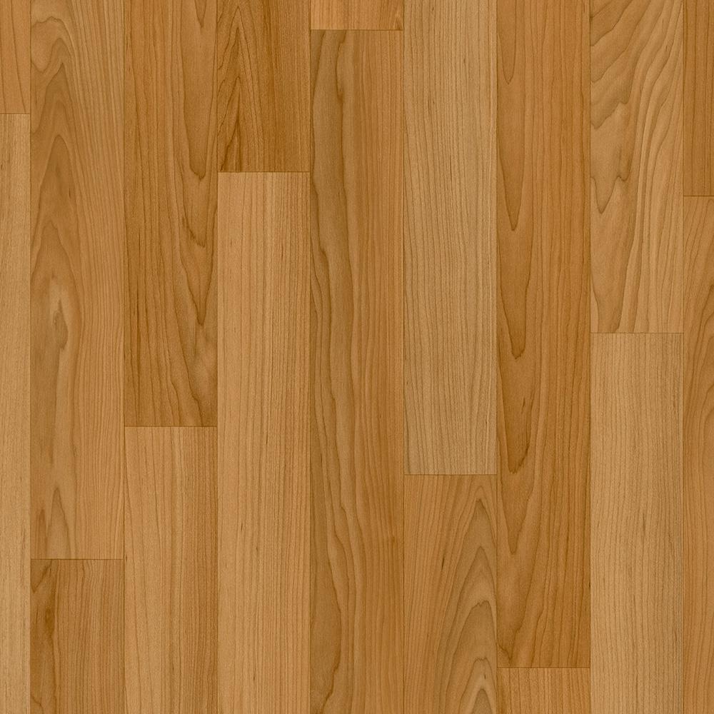 Sheet vinyl flooring trafficmaster oak strip butterscotch 12 ft. wide x your choice length  residential DBWPRKH