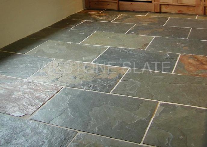 slate flooring grey green slate - flooring slate UZIXJSA