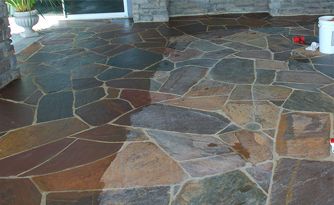 slate flooring slate floor WVZETMZ
