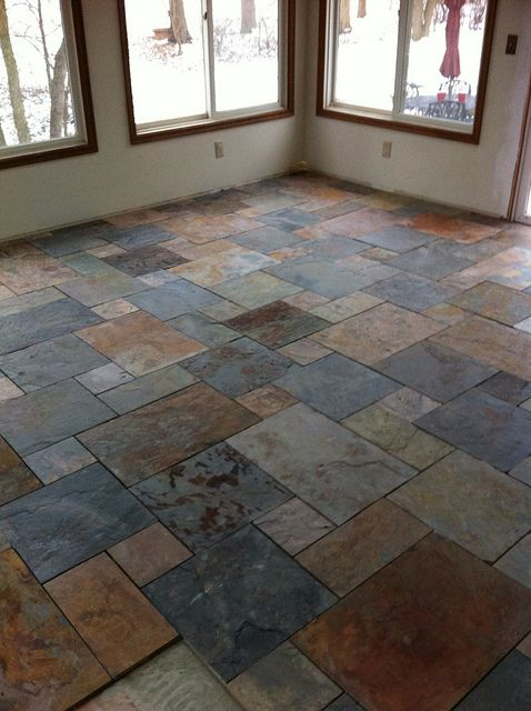 How to look after your slate flooring