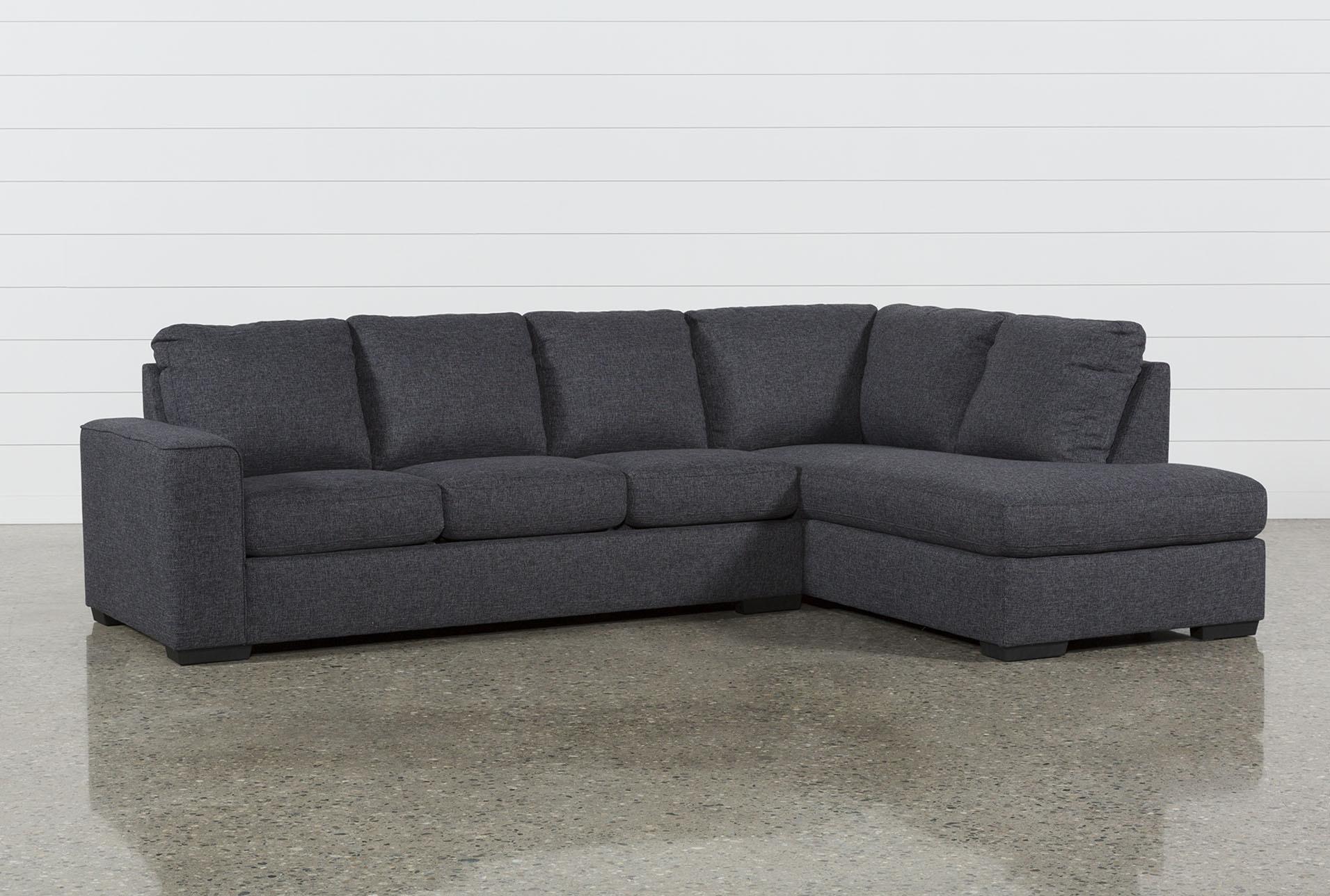 sleeper sectional sofa lucy dark grey 2 piece sleeper sectional w/raf chaise HSSIAFP
