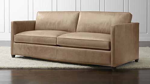sleeper sofa leather dryden leather queen sleeper sofa GKDTQZU