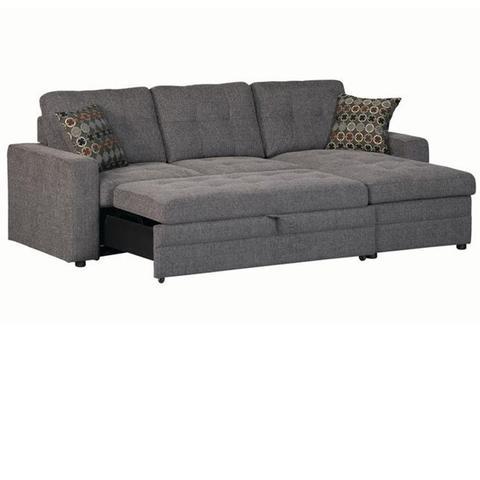 sleeper sofa sectional gus 2-piece sleeper sectional SPACVDL