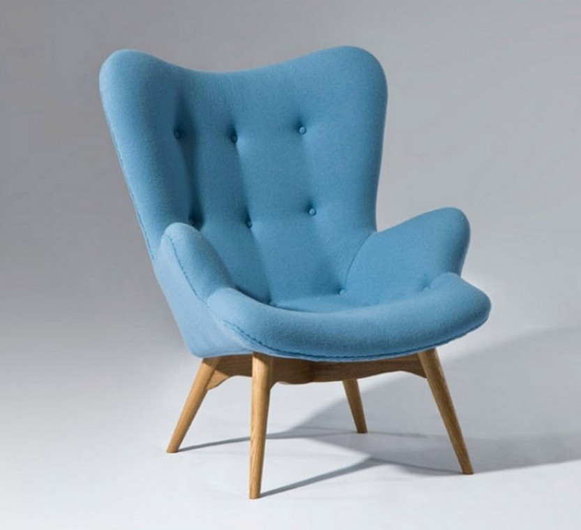 Small armchairs are useful seats for the home and kids