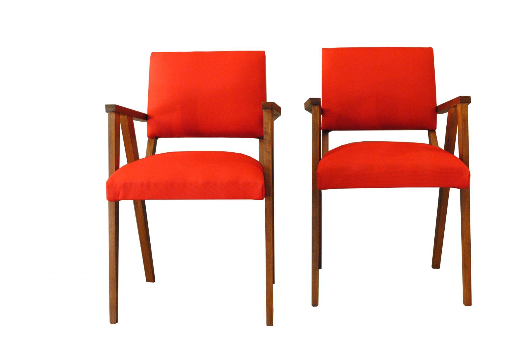 Small armchairs small mid-century rosewood armchairs, set of 2 YBTDJHE