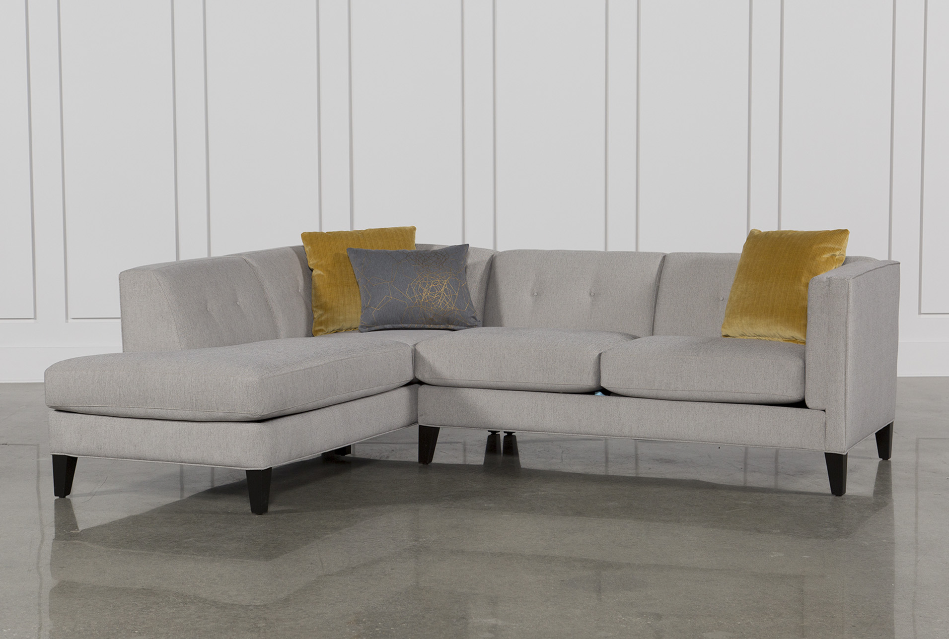 A small sectional sofa is adorable home furniture for your living room