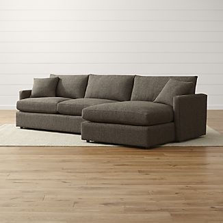 small sectional sofa lounge ii petite 2-piece sectional sofa AQMBKEF