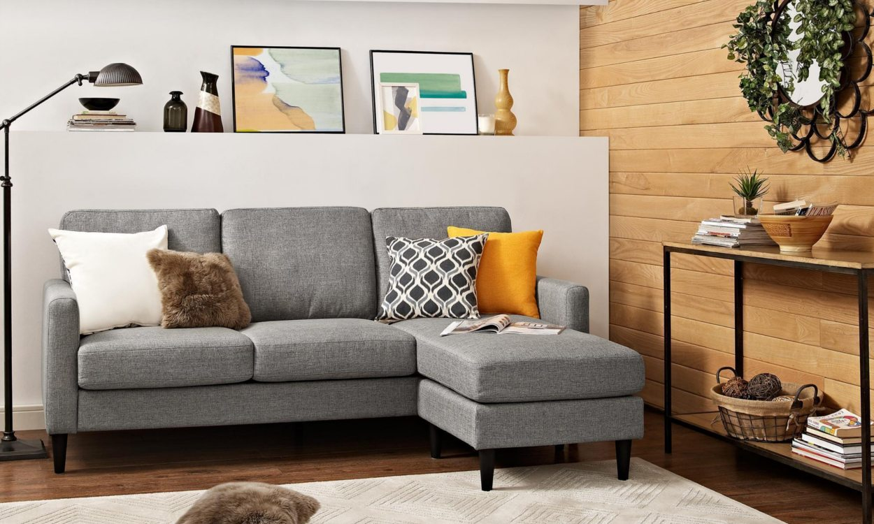small sectional sofa with chaise cheap sofas vs. discount sofas TGJMXOD