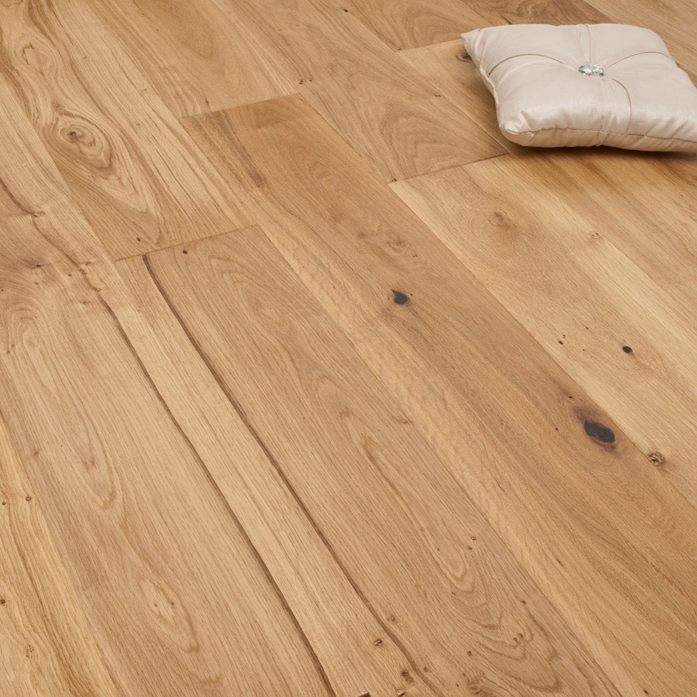 smart choice click engineered oak flooring 14/2.5mm x 180mm brushed and  oiled UJRRTHP