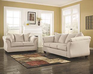sofa and loveseat set darcy sofa and loveseat, stone, ... GPBHNRG