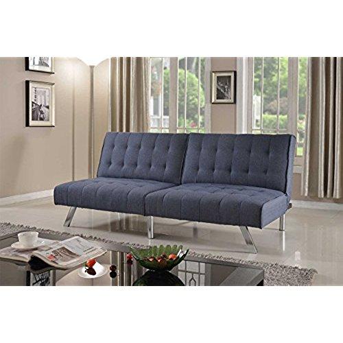 sofa convertible bed home life linen with split back adjustable klik klak sofa futon bed sleeper UFOKDZC