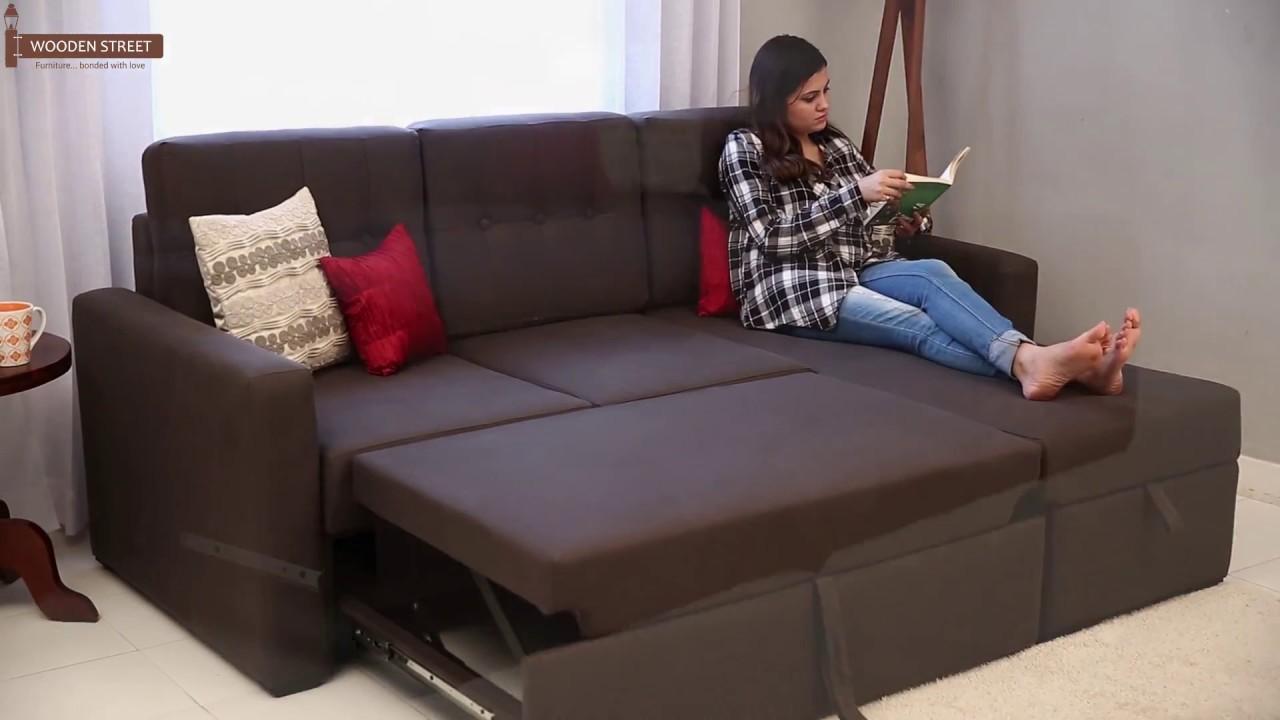sofa convertible bed sofa cum bed - alfonso convertible fabric sofa cum beds AMUBAEQ
