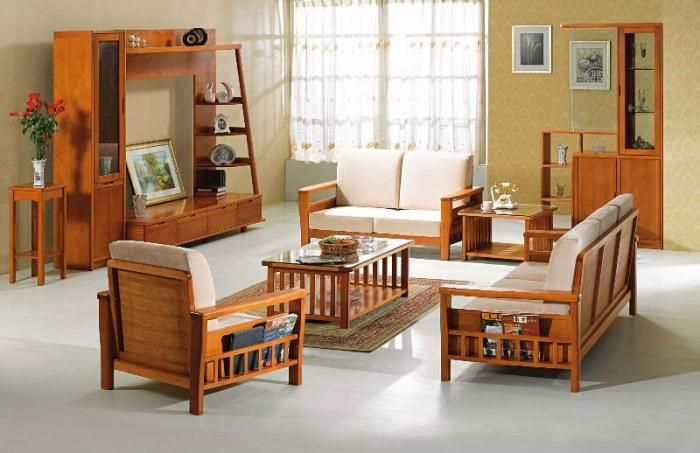 sofa couch for living room modern wooden sofa furniture sets designs for small living room SPTAYVD