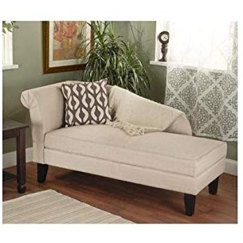 sofa for bedroom beige/tan storage chaise lounge sofa chair couch for your bedroom or living XYVPGRQ