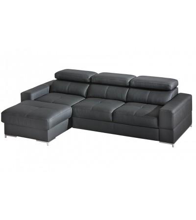 Sofa leather bed basalt i corner sofa bed LYJJZBM