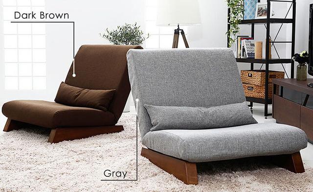 sofa lounge for living room floor folding single seat sofa bed modern fabric japanese living room  furniture VNKMWEN