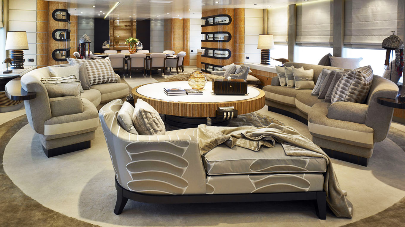 Use a sofa lounge for your living room interior décor and cherish every bit of it