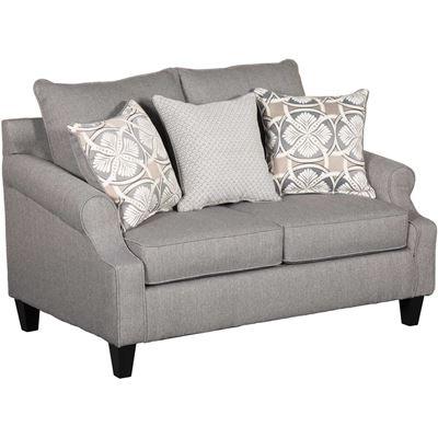 sofa loveseats bay ridge gray loveseat SJXLJRP