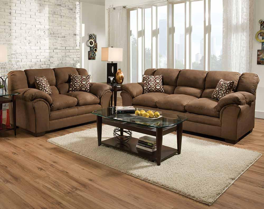 sofa loveseats sierra chocolate sofa u0026 loveseat KWLEXTB