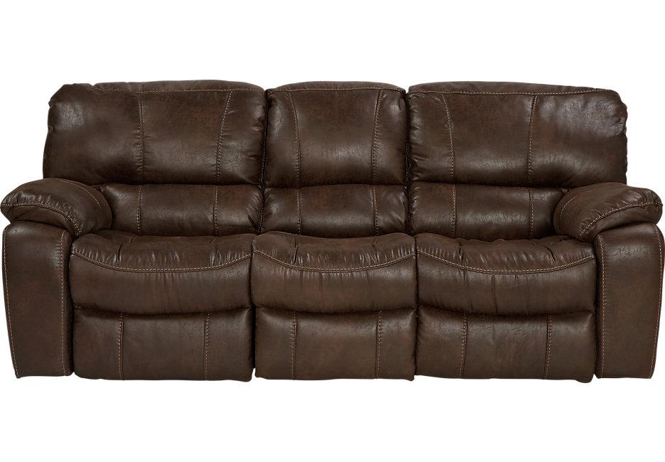 Sofa recliner alpen ridge brown reclining sofa TSOWZTY