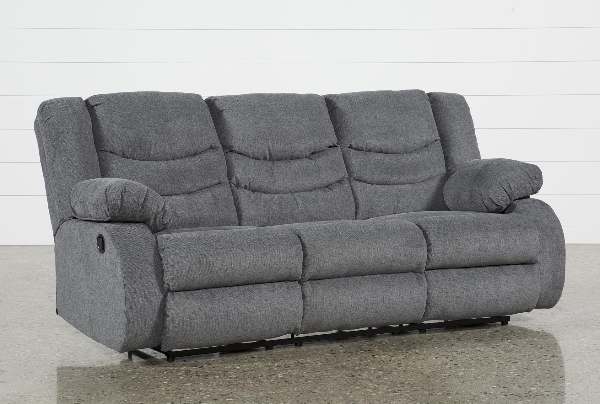 Sofa recliner haines grey reclining sofa VQRTLOX