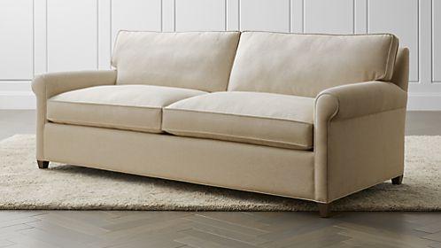 sofa sleeper montclair 2-seat queen roll arm sleeper sofa SOFIJRC